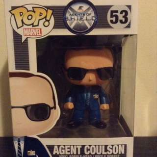 Agents of Shield-Avengers-Marvel- Phil Coulson Funko Pop