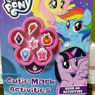 My Little Pony Cutie Mark activity