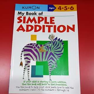 Kumon - My Book of Simple Addition