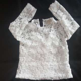 H&M Lace Top for Girl