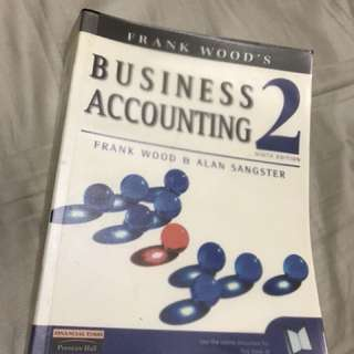 Business Accounting 2 by Frank Wood & Alan Sangster