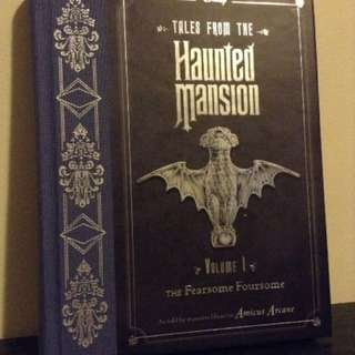 Haunted Mansion Book - Disney
