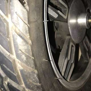 16inch rim with tubeless Tyre 3.0