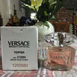 Authentic US Tester Perfume: Versace Bright Crystal