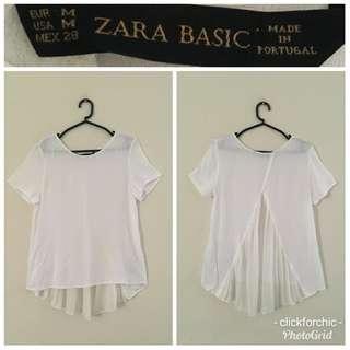Zara Basic Contrast Top