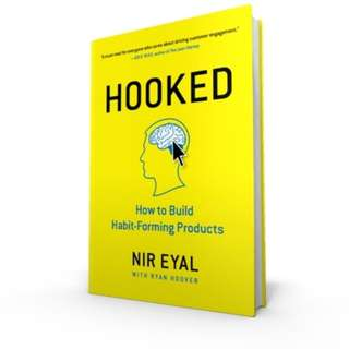 FREE SHIPPING Hooked-How to Build Habit-Forming Products BOOK FOR BUILDING YOUR PERSONAL BRAND