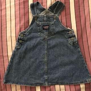 Osh Kosh Jumper Dress 2yo