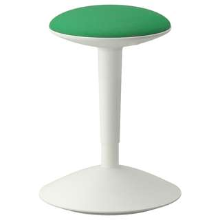 NILSERIK Standing support, white, Vissle green