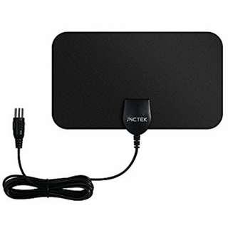 Pictek Indoor TV Aerial Ultra-Thin Amplified 25 Mile Range HDTV Antenna