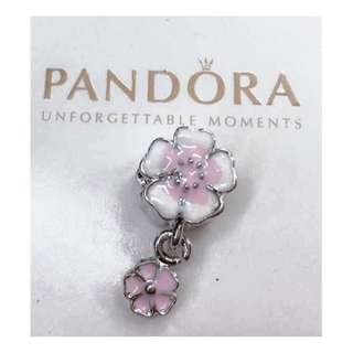 Pandora Charm Italy White Gold Fitted to Bracelet & Necklace
