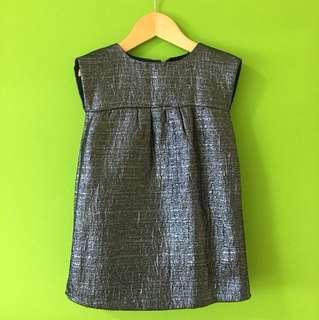 Baby GAP Glittery Grey Dress (3 Years Old)
