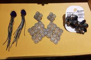 Aldo & F21 Earrings Set