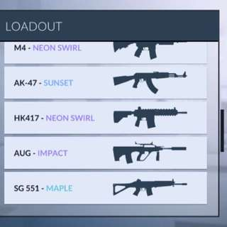 Critical Ops Stacked Account