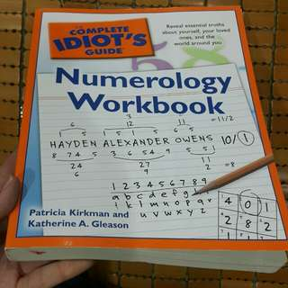 Complete Idiot's Guide: Numerology Workbook