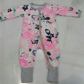 Bond Baby Sleepsuit