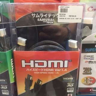 Japan Samurai HDMI Cable [25% off Retail Price]