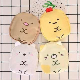 購物袋一個 (四款選擇: 炸蝦 / 白熊 / 貓咪 / 炸豬扒)