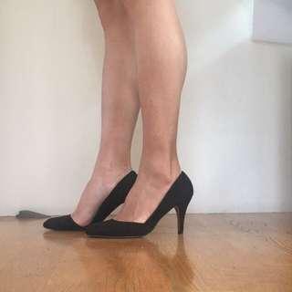 🚚 全新高跟黑鞋37號