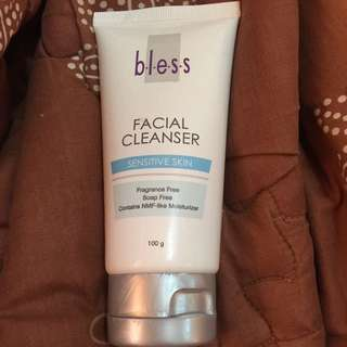 Bless facial soap for sensitive skin