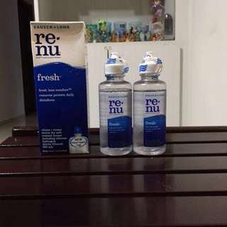 Bausch Lomb Renu multi purpose solution contact lens solution