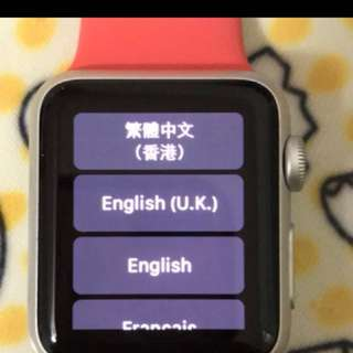 Apple Watch 38 mm九成新