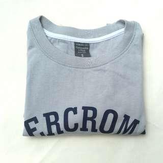 Gray Abercrombie Shirt