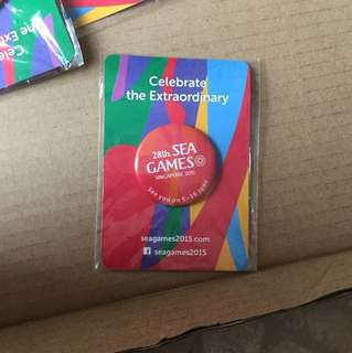 28th Sea Games badge