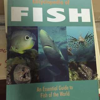 Fish book - Hard Cover - Essential Guide to Fish of the World