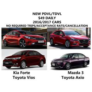 Uber car rental promo cheapest new pdvl tdvl