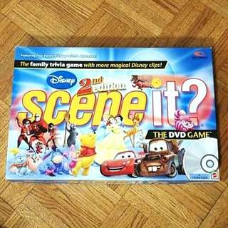Disney 2nd Edition Scene It? Board Game