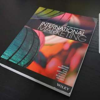 Global marketing RMIT