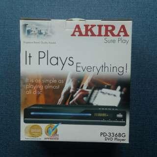 Akira PD-3368G DVD PLAYER (Brand New)