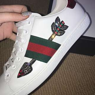 BOW AND ARROW AUTHENTIC GUCCI SNEAKERS