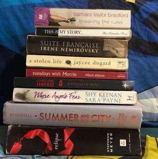 Novels (Eng & Malay)