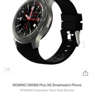 DOMINO DM368 Plus 3G Smartwatch Phone (Retail price $1000)