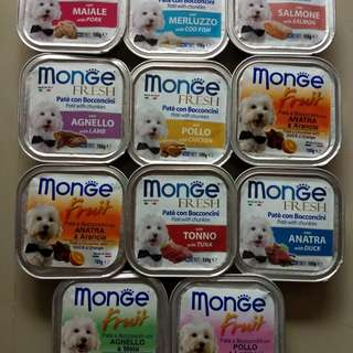 33x Monge Dog Food
