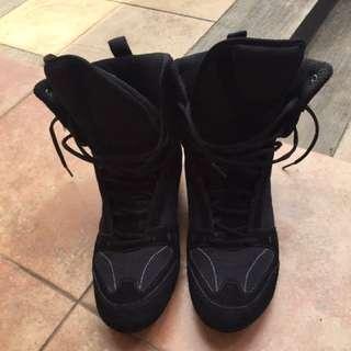Black Boxing Shoes Size 42
