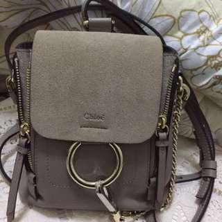 Chloe Faye Mini Backpack 減價(不議)