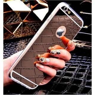 Rose Gold Mirror Phone Cases