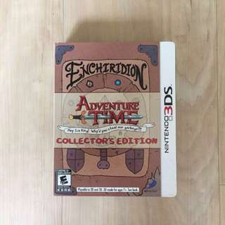 Adventure Time 3DS Steelbook