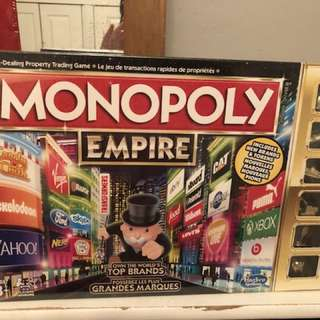 Monopoly Empire Edition In seal with 6 Gold Tokens