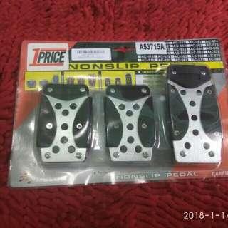 Nonslip pedal (manual)
