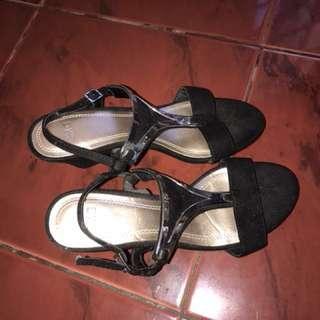 CMG Black Sandals