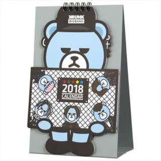 KRUNK x BIGBANG Desktop Calendar