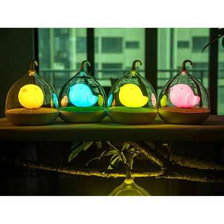 Birdcage LED Rechargeable Touch Night Light