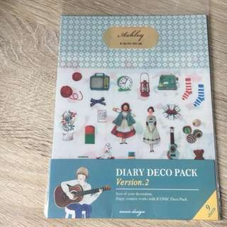 Korean diary/Planner stickers