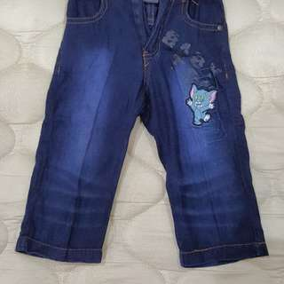 Tom & Jerry Baby Jeans. RM10