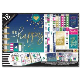 2017 - 2018 The Happy Planner® Box Kit - CLASSIC Student Edition - Be Happy
