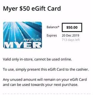 MyerGiftCard