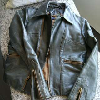 Polo Leather jacket